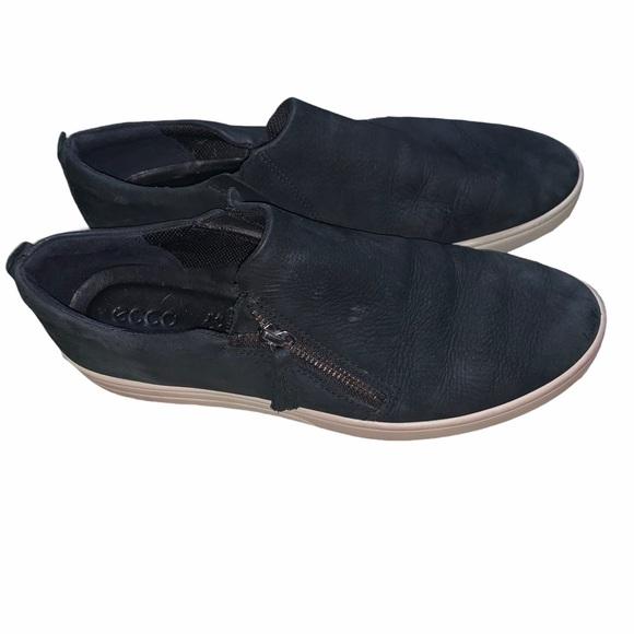 Ecco Fara Zip Slip On Sneakers Womens 4